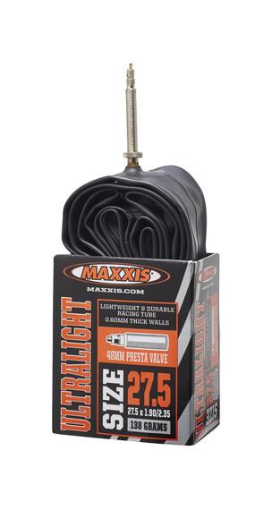 Maxxis UltraLight - Chambre à air - 27,5 x 1,90/2,35 Presta/F noir